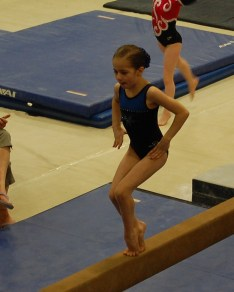 Idaho State Championships 2011 Beam Balance Move - Level 4