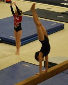 Idaho State Championships 2011 Beam Dismount - Level 4