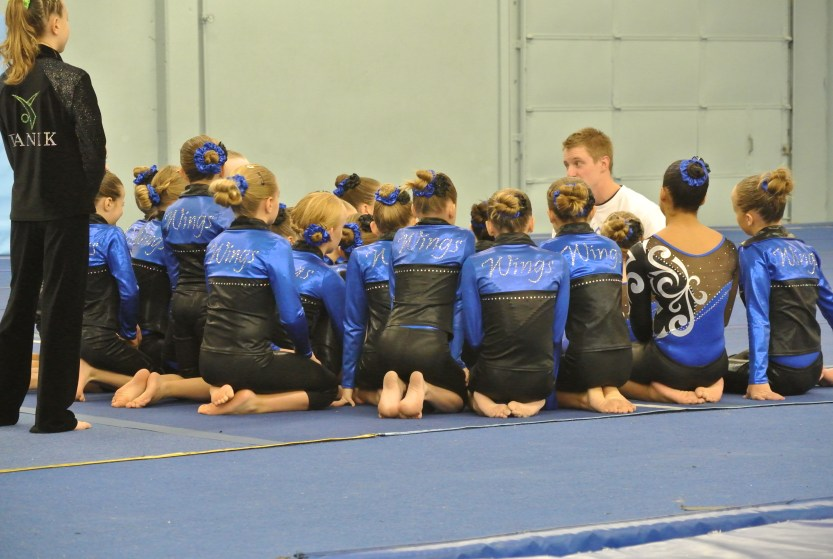 Level 5 Wings Gymnasts at Teddy Bear Classic 2011