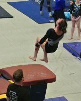 Idaho State Championships 2017 Vault Back Tuck - Level 8