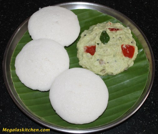 Idli with ketti chutney