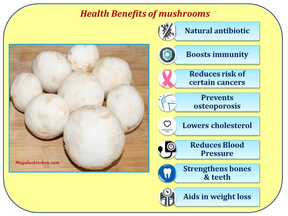 health-benefits-of-mushrooms4 Mushroom Masala