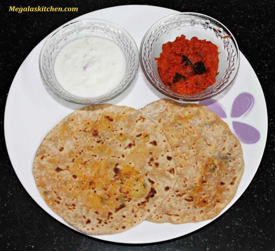 img_6935 Aloo Paratha with Garlic-tomato dip