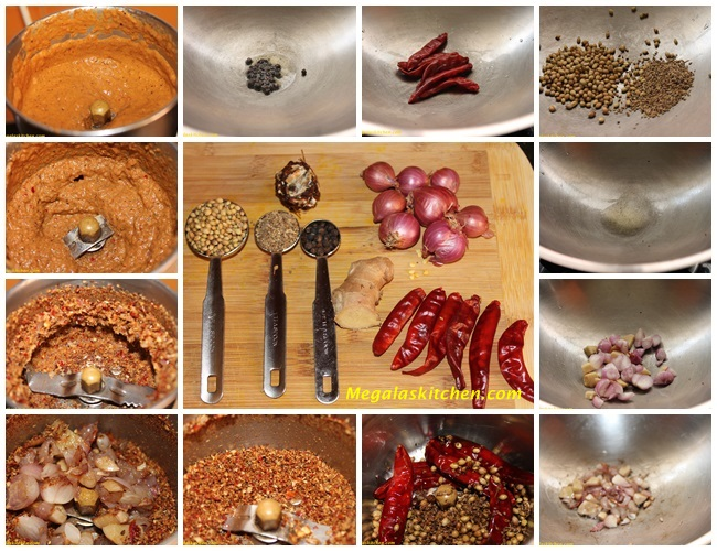 masala-grinding Omam Kuzhambu