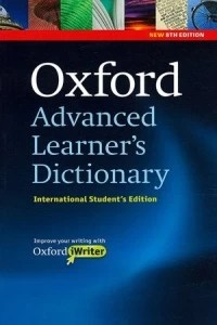 OXFORD ADVANCED LEARNER'S DICT 8ED W IWRITER