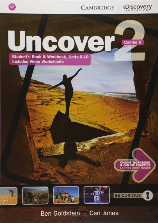 Undercover 2B Combo Students Book and Online Pratctice