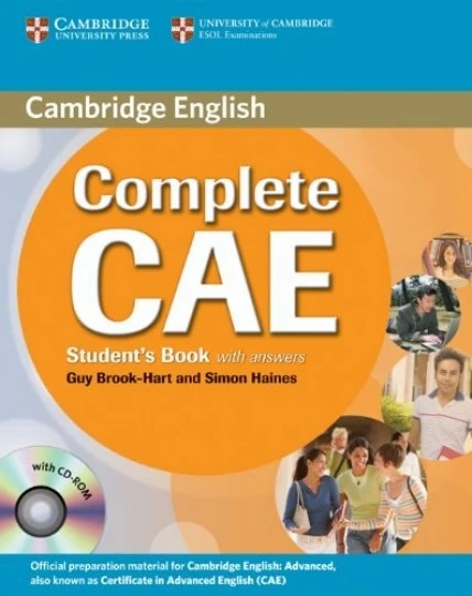 Complete Cae Students Book With Answers CD-Rom