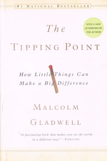The tippoint - How to little things can make a big difference