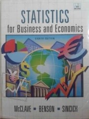 Statistics For Business and Economics - 8ª Edição