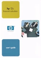 Hp 12c - Financial calculator - User\'s guide