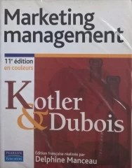 Marketing Management - Philip Kotler Ed. Française