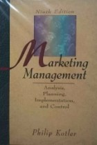 Marketing Management - Analysis, Planning, Implementation, and Control - 9 Edição