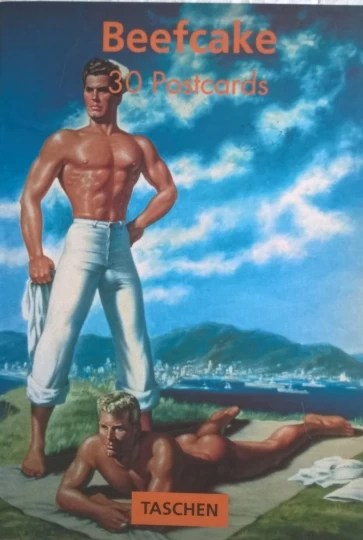 Beefcake - Postcard Book With 30 Postcards