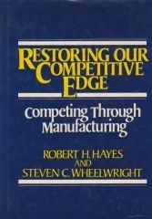 Restoring Our Competitive Edge - Competing Through Manufacturing