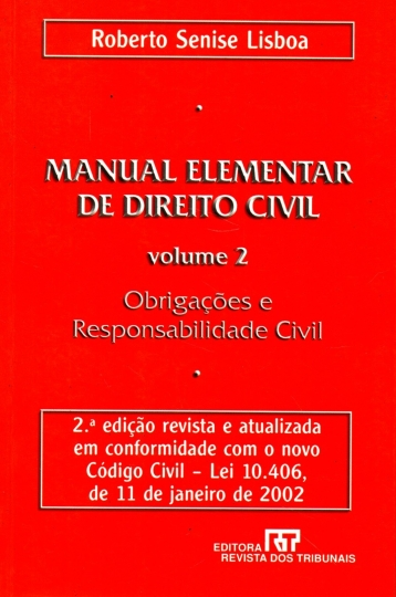 Manual elementar de direito civil v. 2. 2ªed