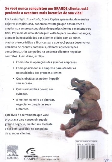 A estratégia do elefante
