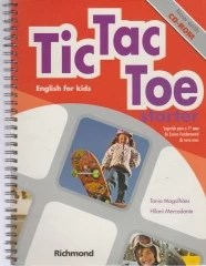 tic - tac - toe starter - english for kids - now with cd - rom