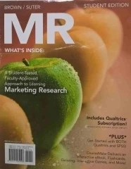 MR Marketing Research - Whats Inside Studant Edition