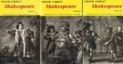 Shakespeare Théatre complete 3 tomes