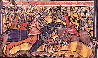 Miniatura del manuscrito de San Galo, Siglo XIII