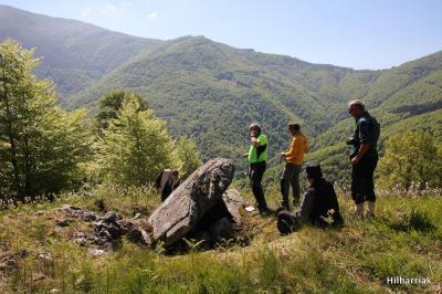 Parte del grupo Hilharriak en Epersaro, Foto Hilharriak