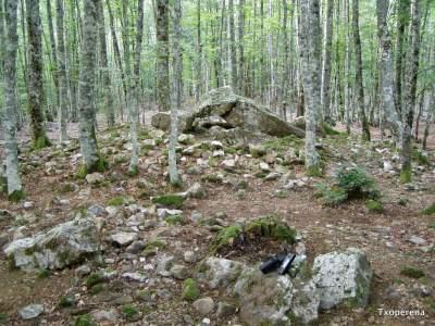 Dolmen de Artzilo en Aurizberri