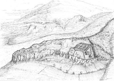 Interpretación del castro de Peñarroya, último localizado en el Almiradio