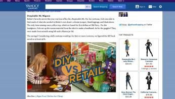 Yahoo video DIY vs. Retail-1