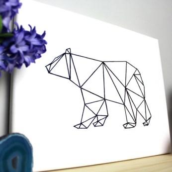 Geometric Animal String Art- HGTV Handmade