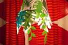 Jungle Lamp for Cricut- Project Runway Duck Tape Fashion Show