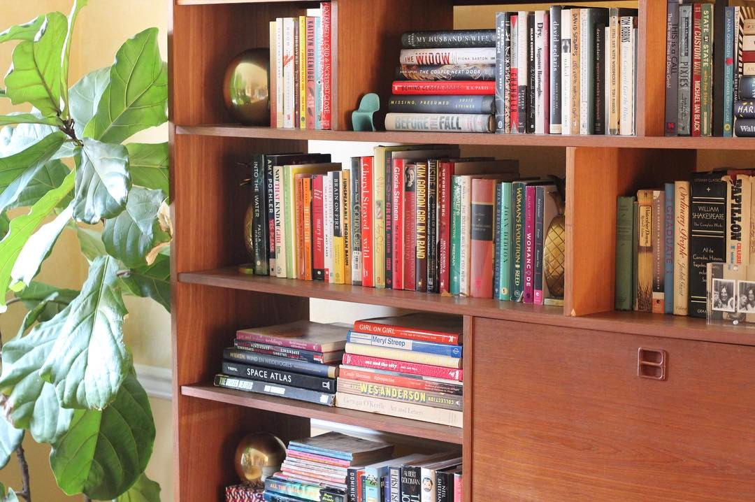 Favorite Functional Decor: Books & Brass 📚