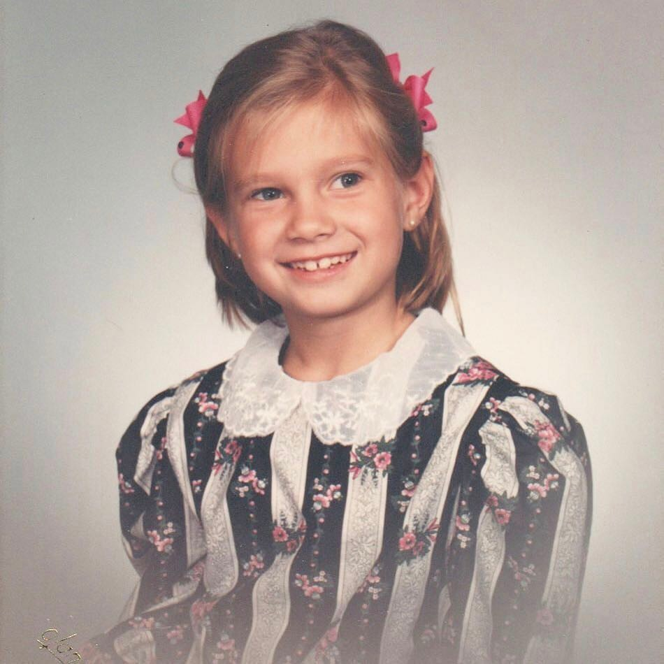 """The fabric on my dress looks like it should be wallpaper in a murder mystery puzzle from the 80's or something that Patsy Ramsey would definitely upholster a love seat in and maybe she'd pair it with a chenille throw and I'm feeling pretty great about all of it. Also, remember """"whisps""""?"""