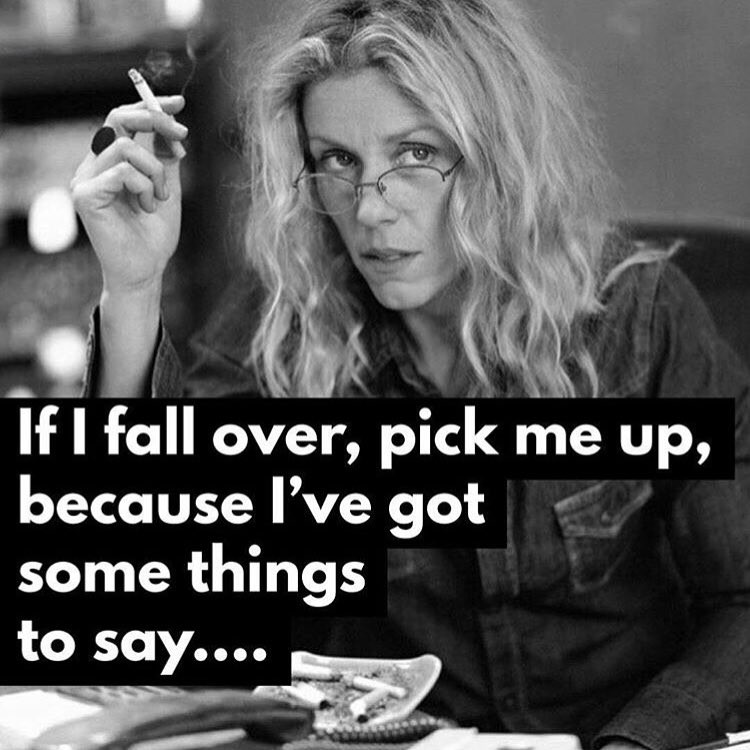 Forever mood 👄 via @words_of_women VIA BADASS FRANCES MCDORMAND 🙌🏼