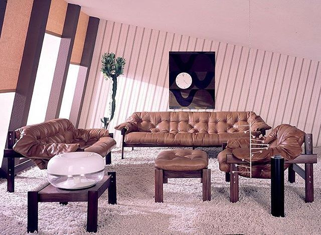 Percival Lafer's 1965 interior, @dwellmagazine
