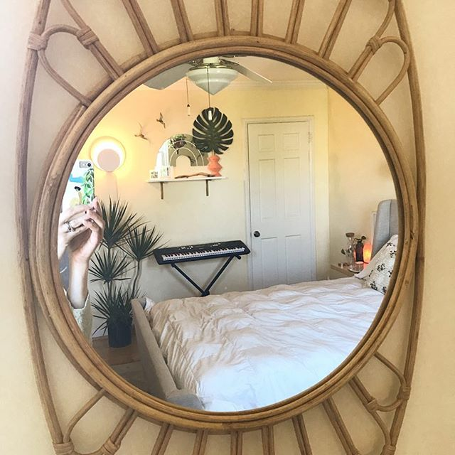 We are making progress in our Palm Springs Bedroom Transformation 🌿Not pictured: ALL the plants