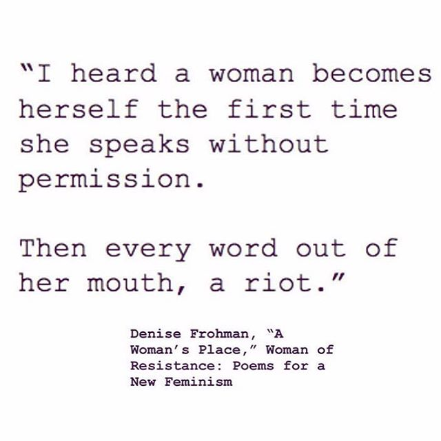 Talk hard this week, ladies. 👄👊🏻 via @shrillsociety & @the.wing