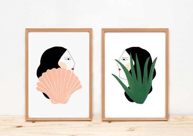 "5 Women / Female Run Projects & Spaces to Watch  1: I am totally in love with the modern minimalist still life and portrait illustrations by artist  @_depeapa's. Each piece is perfection but the pair pictured is my fav.  2: @charlinebataille's vibrant, bold, badass patriarchy-smashing tattoos are in a genre of their own making.  3: @cortneynovogratz being celebrated in Forbes as ""Celebrity Designer Who Built an Empire While Raising 7 Kids"" is inspiring on every level. Can someone erect a statue for her this Sunday please?  4: I LOST my circular tortoiseshell sunglasses by @dusendusen and am pretty shattered by that BUUUT her towels are always amazing enough to pull me through. I have her shapes collection from a few years ago but am now coveting the newer line with even more color and shapes to coze up in.  5: Di you have anxiety? ME TOO! @tracymcmillan offers calming, peaceful words of wisdom and reframes from a variety of sources. If you suffer from anxiety or depression or are experiencing grief, ""reframes"", can assist in changing the way your brain processes things. I fully and wholly admit that my anxiety can be a constant train of negative, self-loathing, dark thoughts that can overwhelm me. I need to actively find reframes and positive messaging to counteract the darkness. I think my girlfriend @daisymayedwards turned me on to this account soon after a heartache, and it was such a kind gesture of friendship, I highly recommend collecting wonderful friends and instagram accounts that feed you"