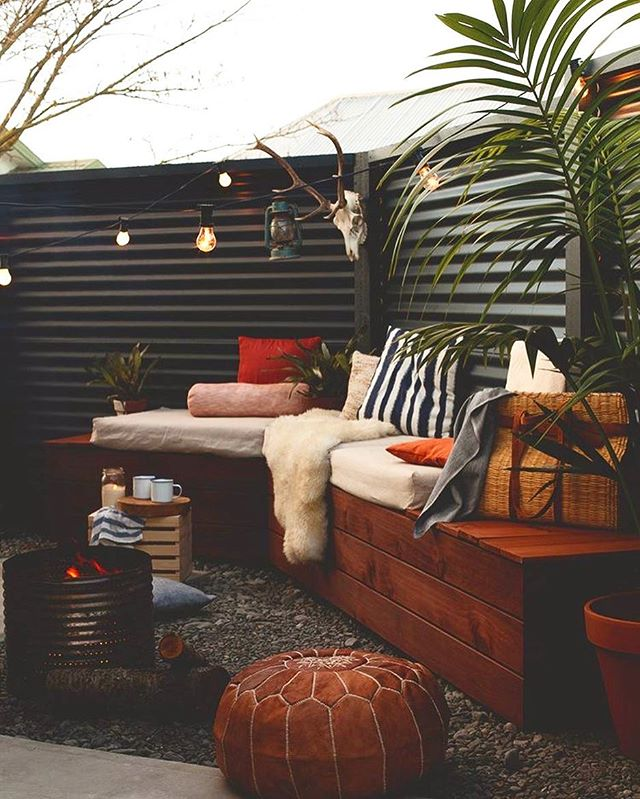 Outdoor spaces are EXTERIOR ROOMS that can expand your living space for at least 3 out of 4 seasons. Here's some visual inspiration from @homestylemag for the backyard oasis I'm helping one of my clients create for herself. I offer in-person Room Makeovers and virtual design therapy and phone consults to help you make your house the home you want on any budget