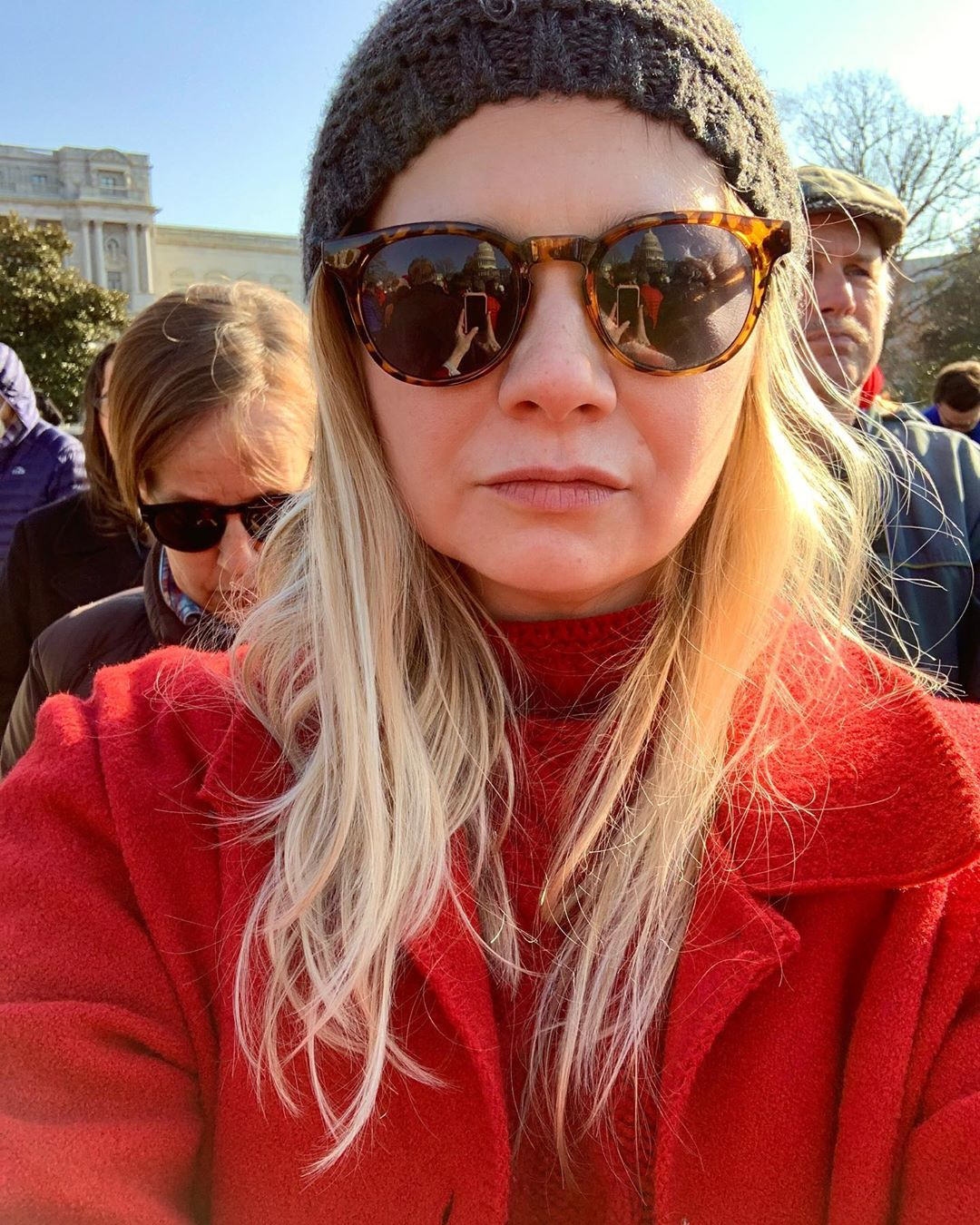 We proudly attended today's @firedrillfriday in solidarity with @gretathunberg & @janefonda and the other beautiful activists demanding climate justice. Dear friend @caseyrosewilson & lifelong hero @gloriasteinem spoke passionately about why this is a crisis and specific ways that we can help. Every Friday at 11am meets on the SE lawn of the capital building to educate, activate, and demand climate justice. Join any Friday to be a part of this powerful and critical movement. Many brave activists like Casey & Gloria risked arrest, which I applaud and proudly support. But you can be a witness as I was if that's not a possibility for you. Attending @firedrillfriday is a wonderful way to be personally involved in this fight for Mother Earth. She needs us. Much respect to everyone involved. *More photos on @nasty.network