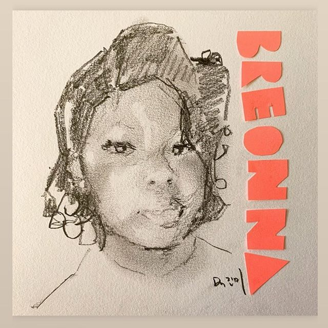 Breonna Taylor was asleep in her bed in the middle of the night when 3 police officers came inside her home and murdered her. They had the wrong house.  One was fired yesterday, the other two murderers are still police officers. No charges have been brought *as of now.  Demand justice for Bre. She and all Black women deserve better than this.  Text ENOUGH to 55156  After countless calls from outraged allies, Mayor Fischer disconnected phone, so we are finding other ways to be heard.  Go to @colorofchange to sign the petition, contact the council members, and get up to date actions.  Art by @jennydoh