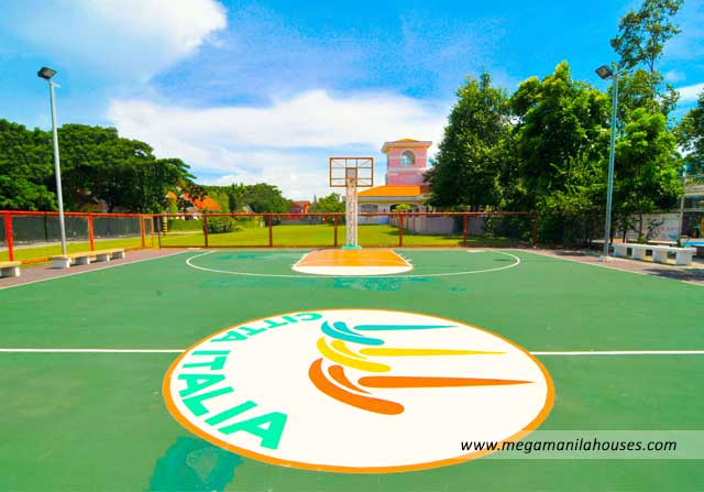 Citta Italia - Luxury Homes For Sale in Bacoor Cavite Amenities Basketball Court