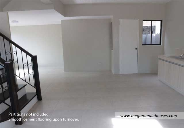 Designer Series 142 at Ponticelli - Luxury Homes For Sale in Ponticelli Bacoor Cavite Kitchen Area