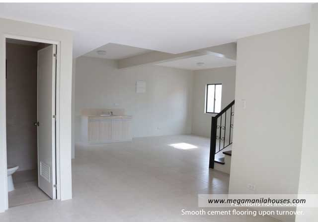 Designer Series 211 at Ponticelli - Luxury Homes For Sale in Ponticelli Bacoor Cavite Kitchen and Living Area