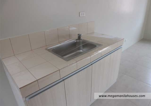 Designer Series 95 at Citta Italia - Luxury Homes For Sale in Citta Italia Bacoor Cavite Turnover Kitchen Sink