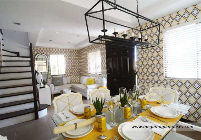 Francesco at Valenza - Luxury Homes For Sale in Valenza Santa Rosa Laguna Dressed Up Living and Dining Area
