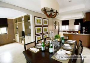 Lladro at Valenza - Luxury Homes For Sale in Valenza Santa Rosa Laguna Dressed Up Dining Area