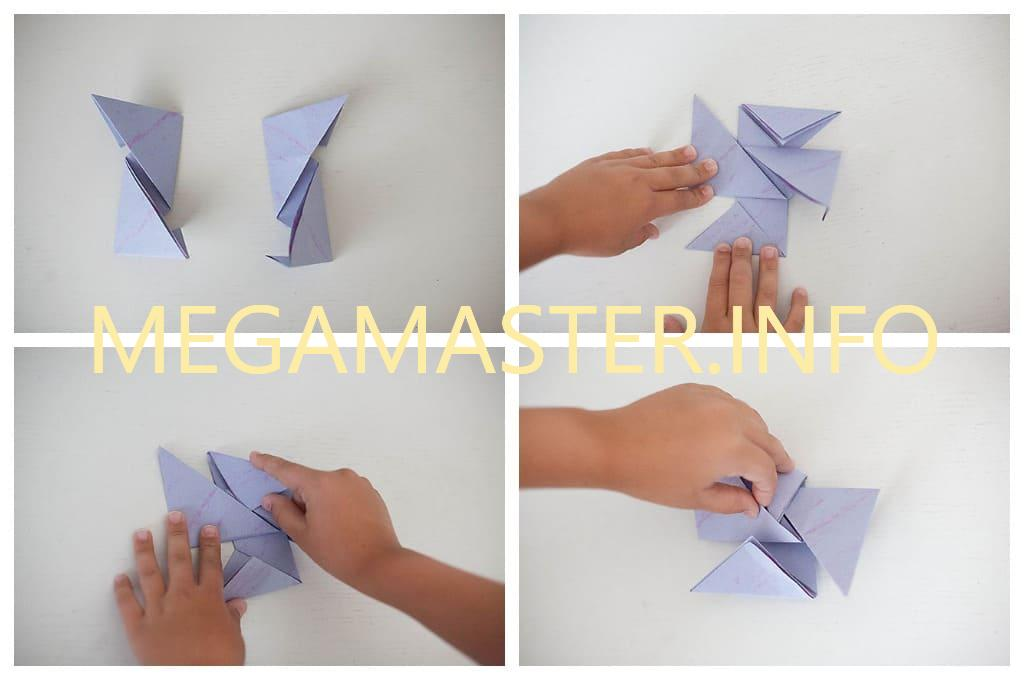 How to Fold Paper Ninja Stars - Frugal Fun For Boys and Girls | 680x1024