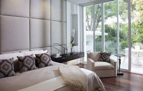 Мягкие стеновые панели для спальни: 3д на стену, фото и ...