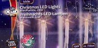 IJspegelverlichting 7.3 meter 120 LED´s warmwit