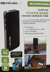 Soundlogic Power bank voor 3 apparaten (12